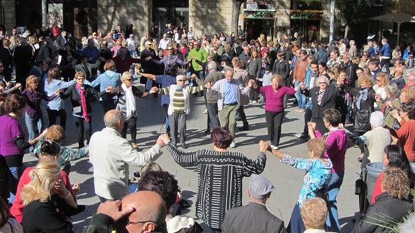 catalan dance Barcelona