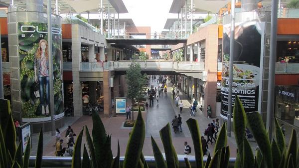 Malls at Barcelona