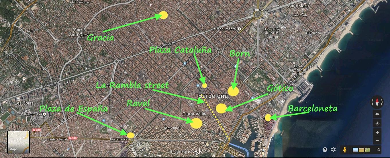 Dove alloggiare a Barcellona? Le migliori zone per l\'hotel ...