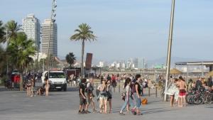barceloneta beach bcn