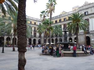 plaza real bcn
