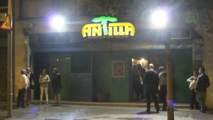 antilla salsa club at night bcn