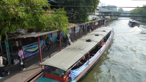 canal boat BKK