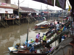 Floating market BKK