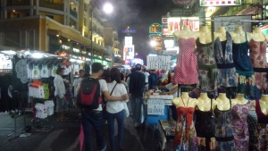 Khaosan road by night