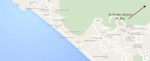 ao nang map thailand