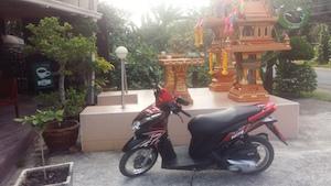 motobike on thai island