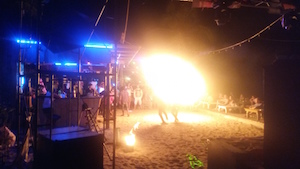 beach party thai island