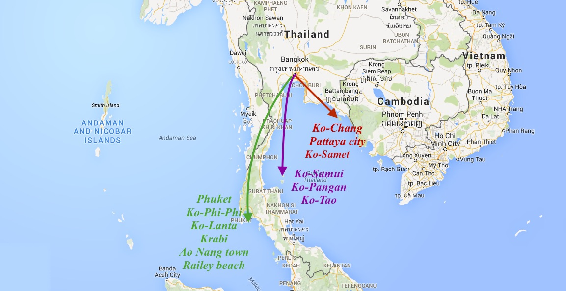Which Island to Visit in Thailand Where to Stay How to Arrive