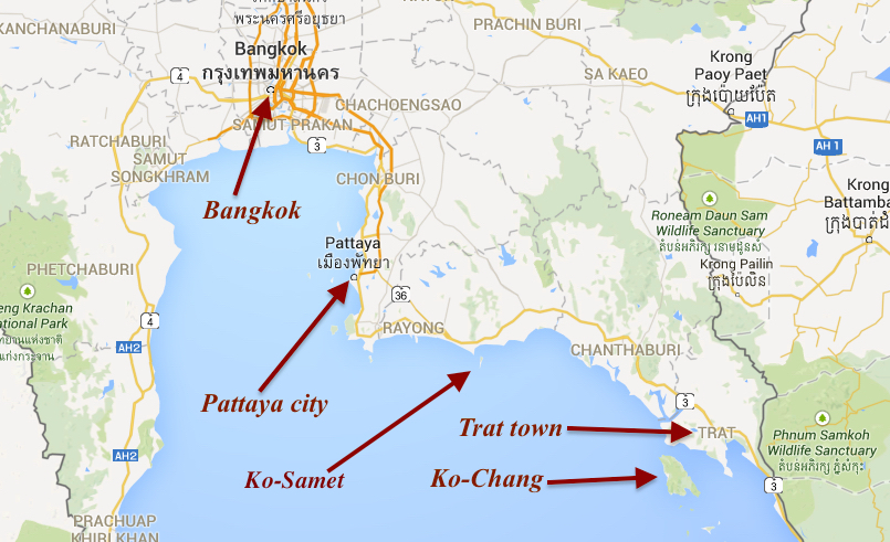 Koh Chang Thailand Map.Which Island To Visit In Thailand Where To Stay How To Arrive