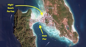 ko phi phi map island thailand