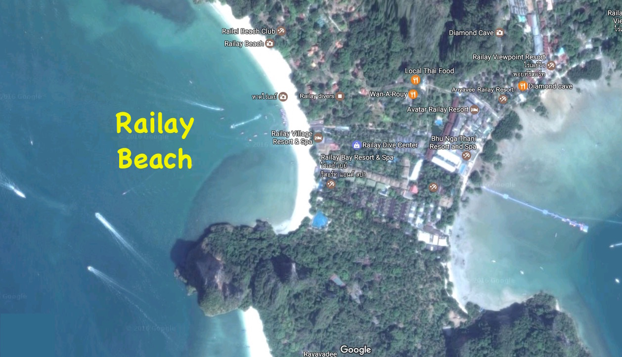 Which island to visit in thailand where to stay how to arrive railay bay map thailand gumiabroncs Images