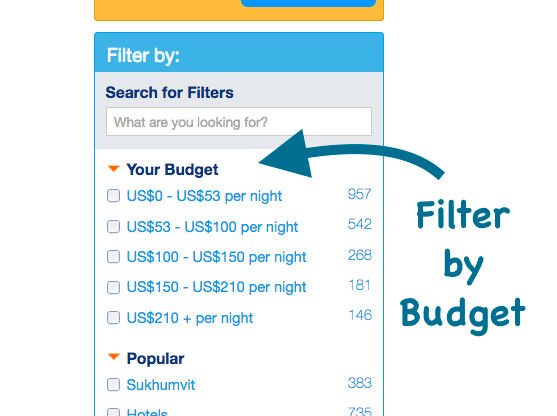 Comment trouver un bon h tel sur internet les tapes de base for Comment trouver un hotel