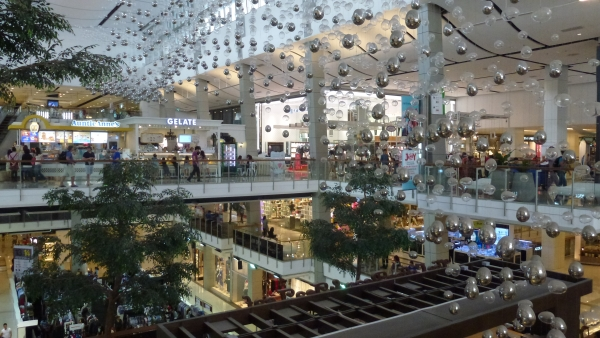 inside central world mall Bangkok