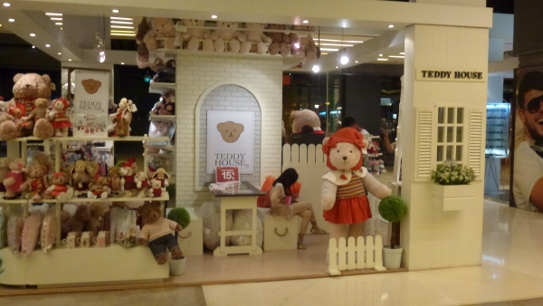 teddy bears at central world mall Bangkok
