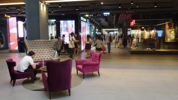 inside Siam Center Bangkok
