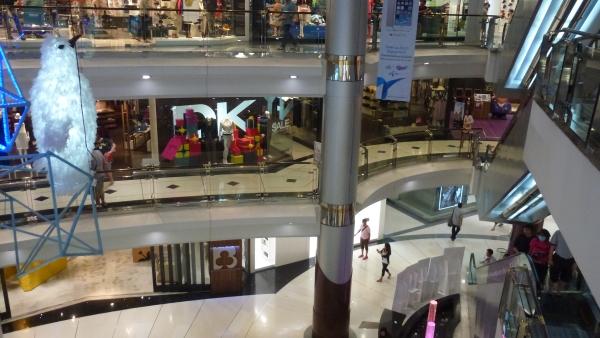 inside Siam Discovery mall bangkok
