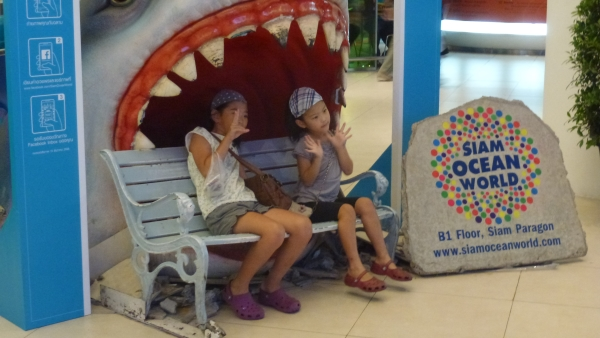 Ocean world aquarium Bangkok