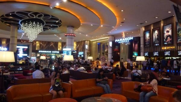 Cinemas Siam Paragon Bangkok