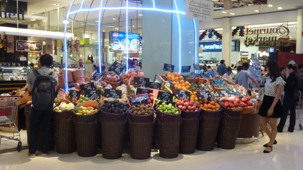 gourmet supermarket Siam Paragon Bangkok