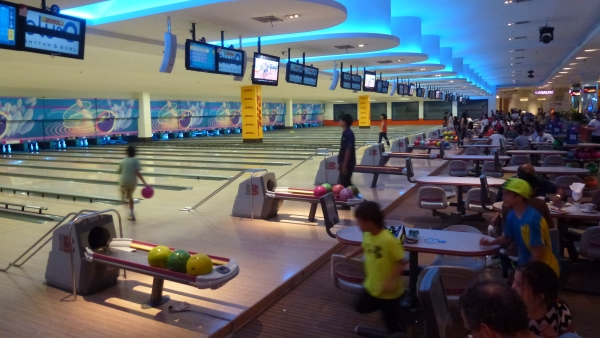 Bowling Siam Paragon Bangkok