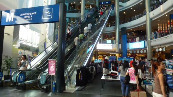 inside Terminal 21 mall bangkok