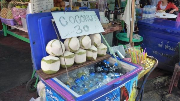 coco juice khaosan bangkok
