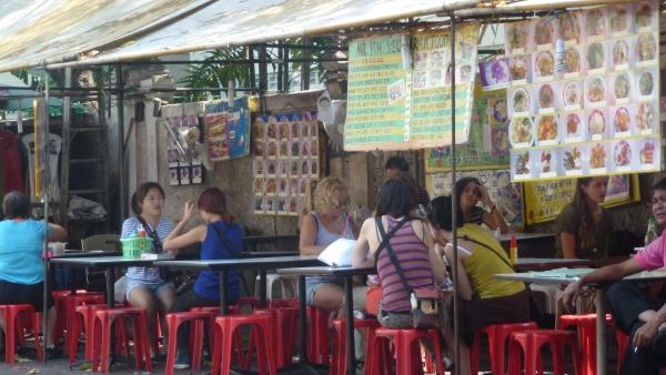 eateries khaosan bangkok