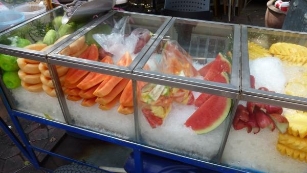 fruits khaosan bangkok