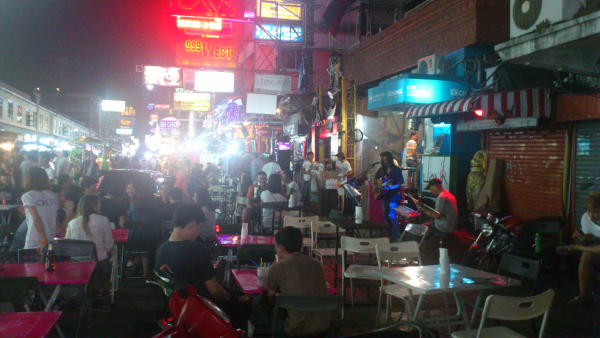 live music at the khaosan road