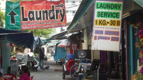 laundry service khaosan bangkok