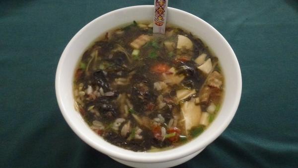 vegetarian soup khaosan bangkok