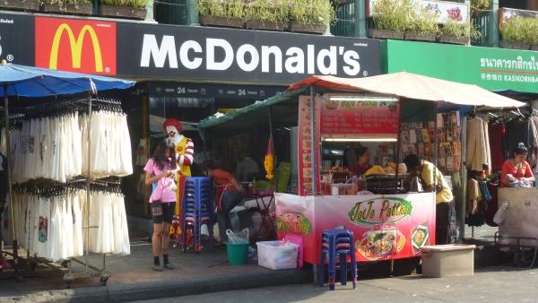 mc donalds khaosan bangkok