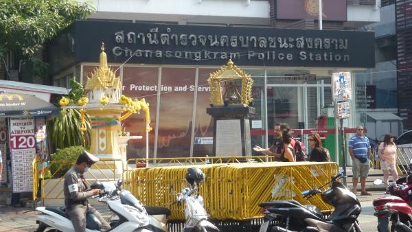 police station khaosan bangkok