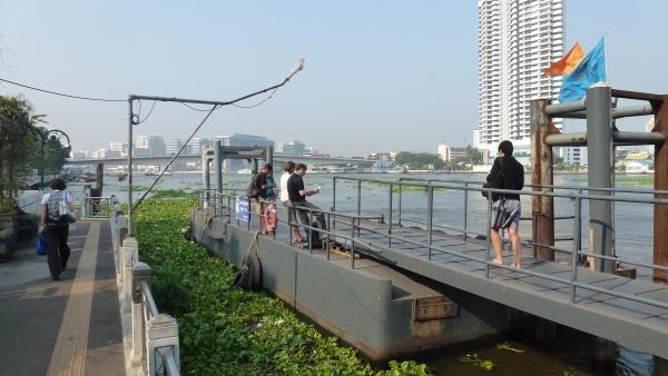 pier boats khaosan bangkok