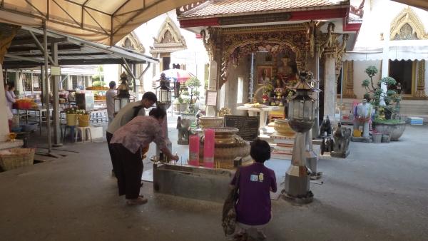buddhist monastery khaosan bangkok