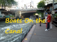 boats canals bkk