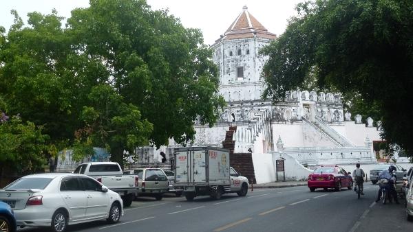 street Phra Athit bangkok