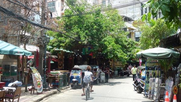 Rambuttri street Bangkok