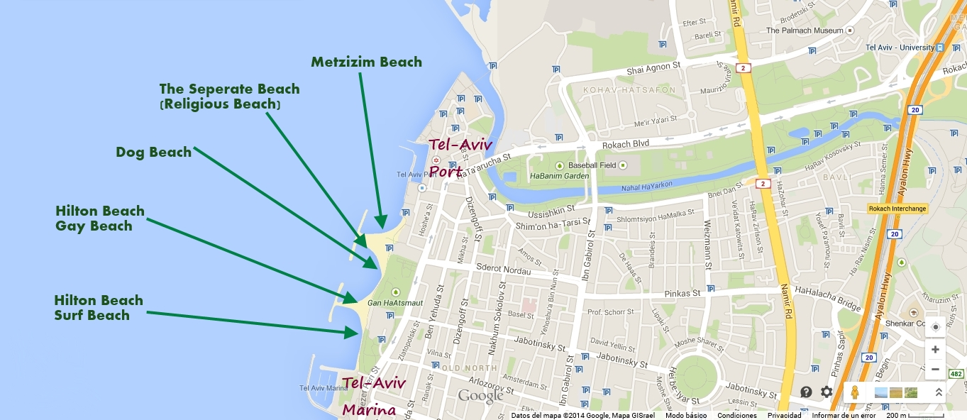 What to visit in TelAviv The main tourist attractions of TelAviv – Tourist Map Of Tel Aviv
