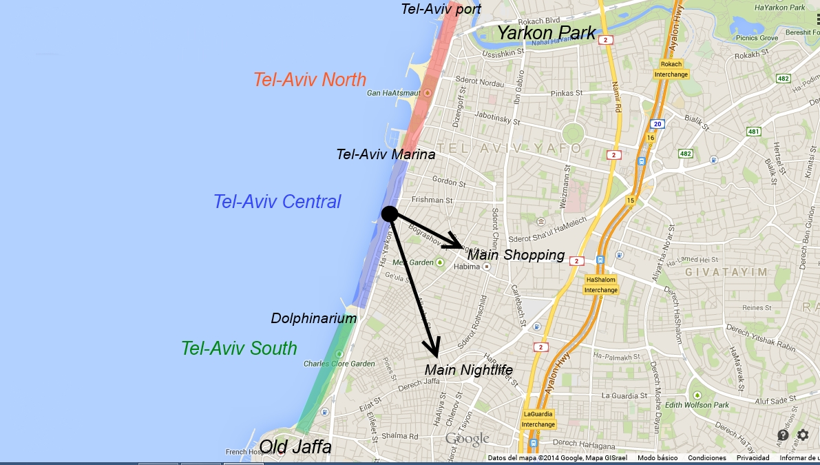 Where to stay in TelAviv Best places to stay in TelAviv – Tourist Map Of Tel Aviv