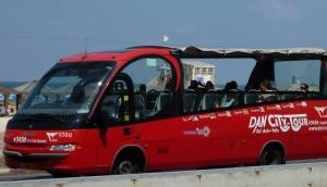 tourist bus tel aviv