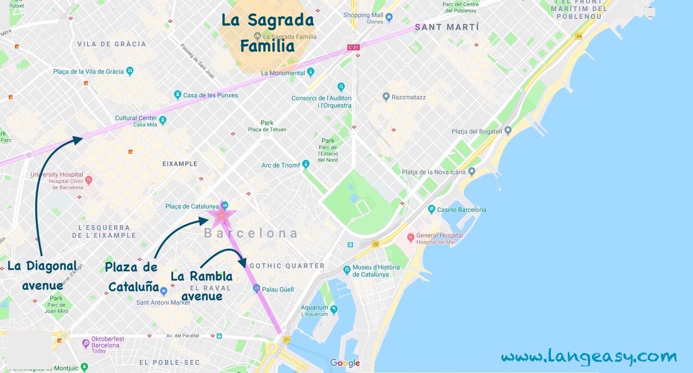 Dove Alloggiare a Barcellona ? - Le migliori zone per l ...