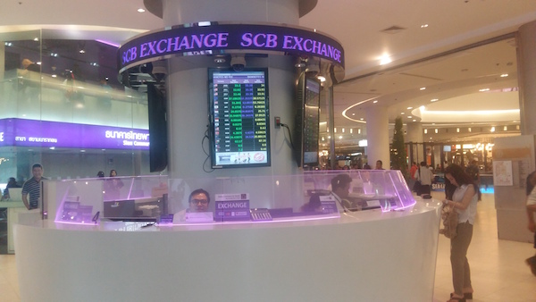 money exchange bangkok