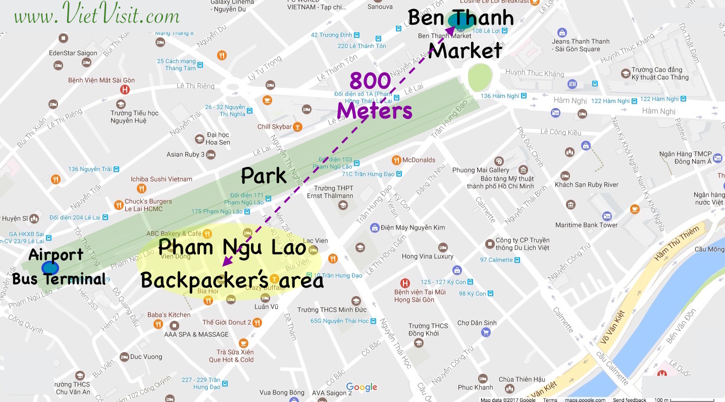 Where to Stay in Ho Chi Minh Saigon The Best zones for the Hotel