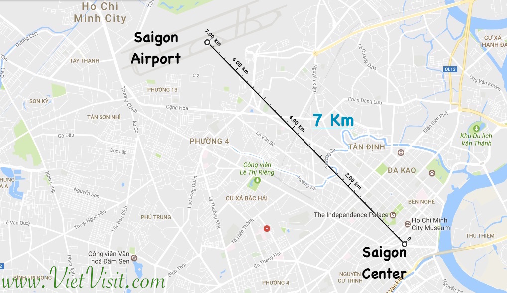 Mien Tay Vietnam Map.The Transport In Ho Chi Minh City Saigon Vietnam Airport To