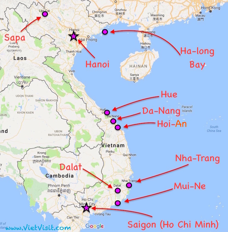 What to Visit in Vietnam ? - The main attractions to Visit and how ...