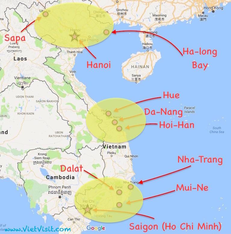 il y a beaucoup de vols intrieurs au vietnam et ils ne sont pas chers