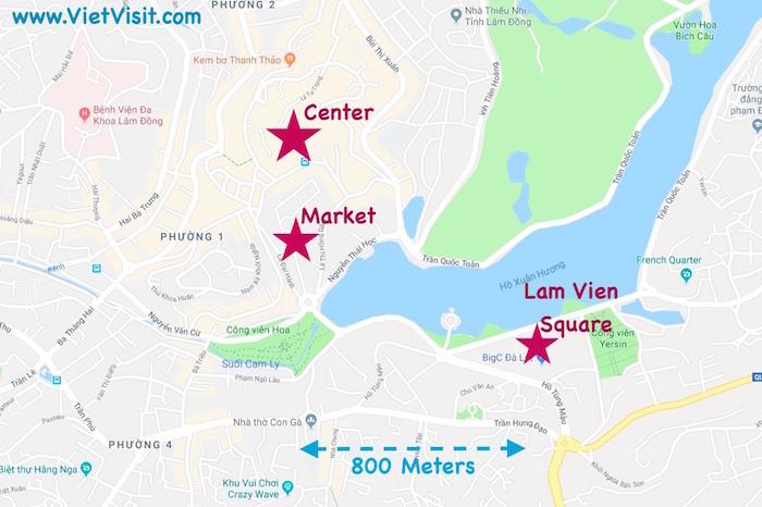 Dalat Vietnam Map   World Map Interactive